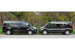 Kisbusz teszt Tourneo Connect vs Opel Vivaro