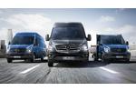 új Mercedes Sprinter kisteherautó